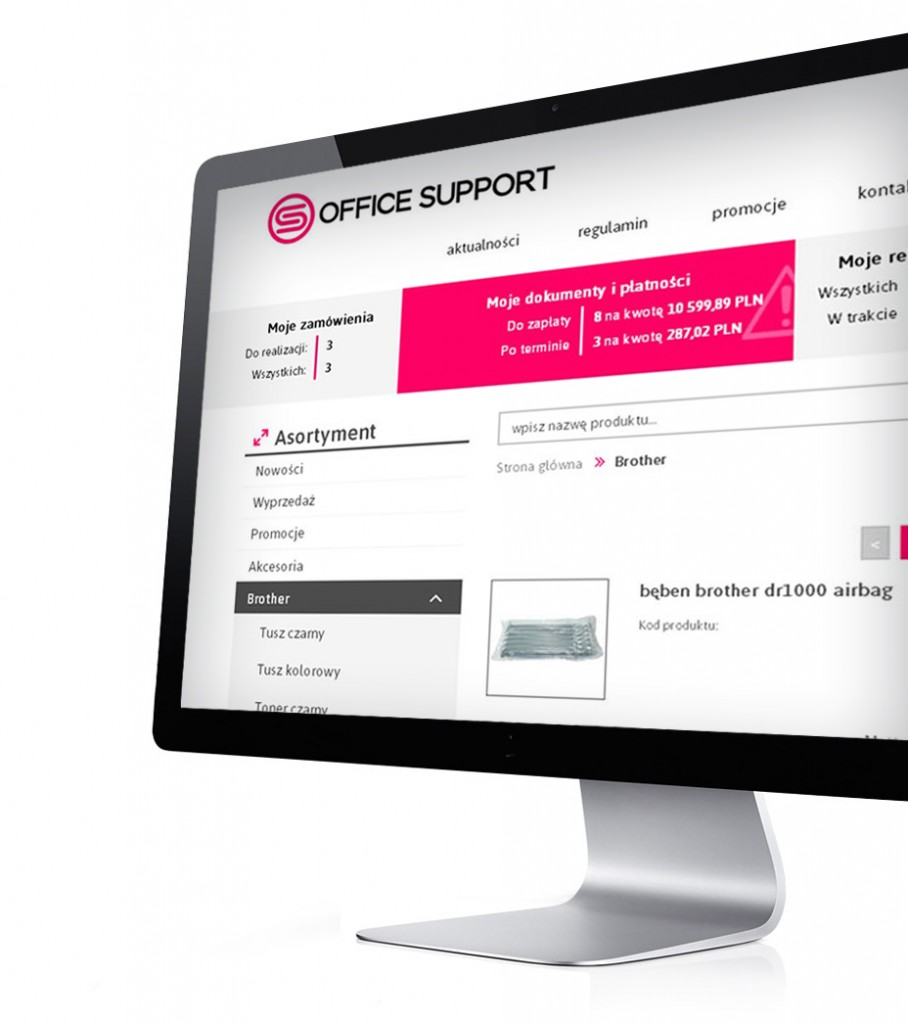 Office Support - platforma b2b