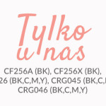 CF256, CF256X, TN426, CRG045, CRG046