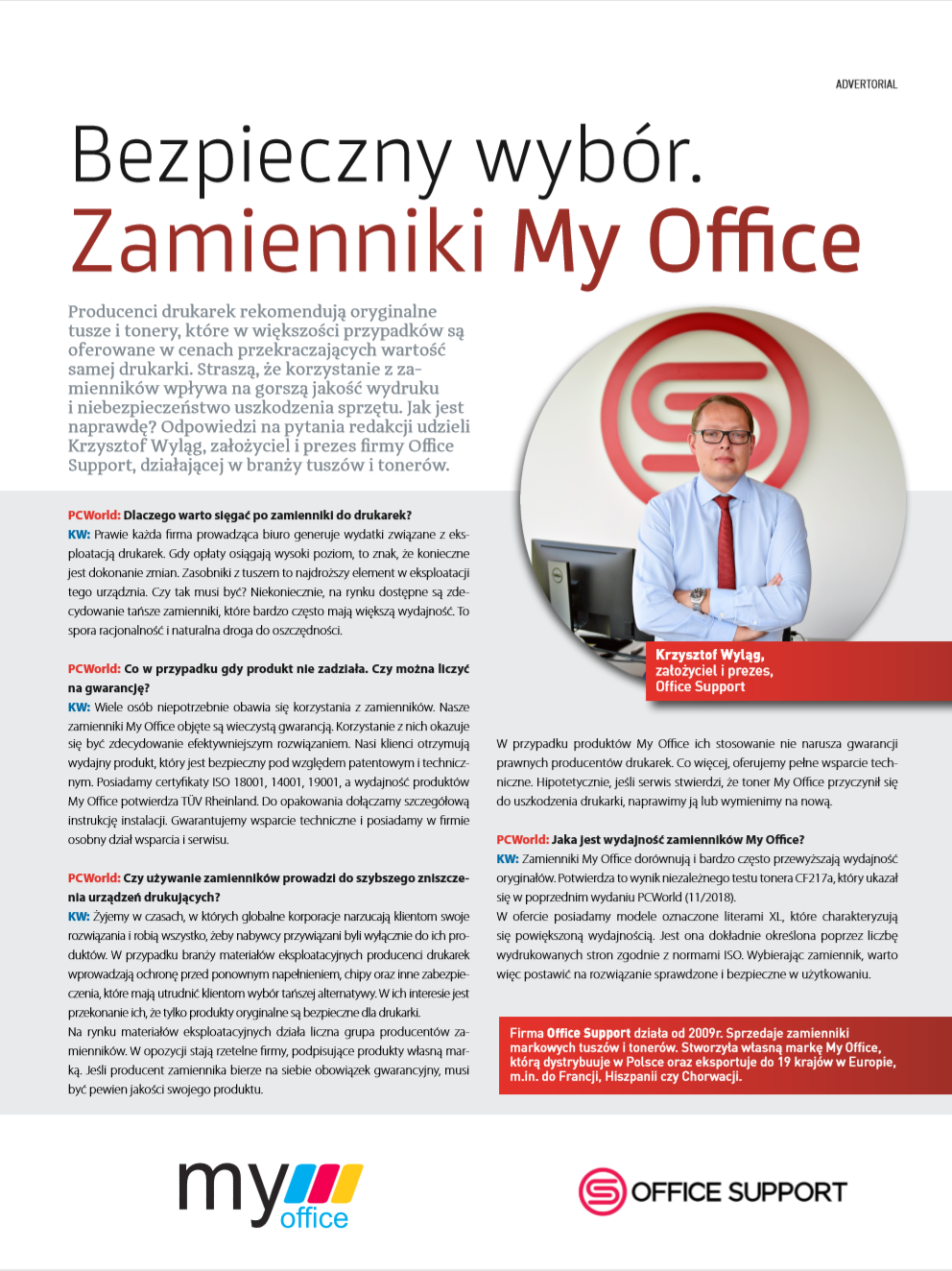 zamienniki My Office