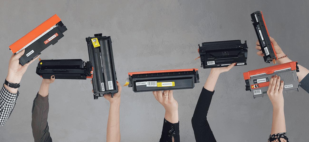 nowe tonery do drukarek