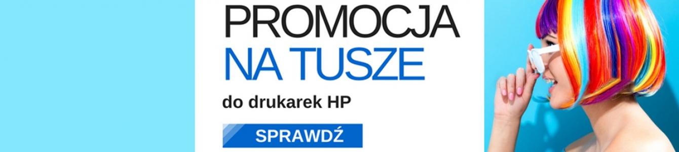 Promocja na tusze do drukarek HP