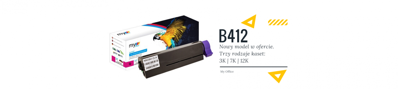 Nowość toner B412