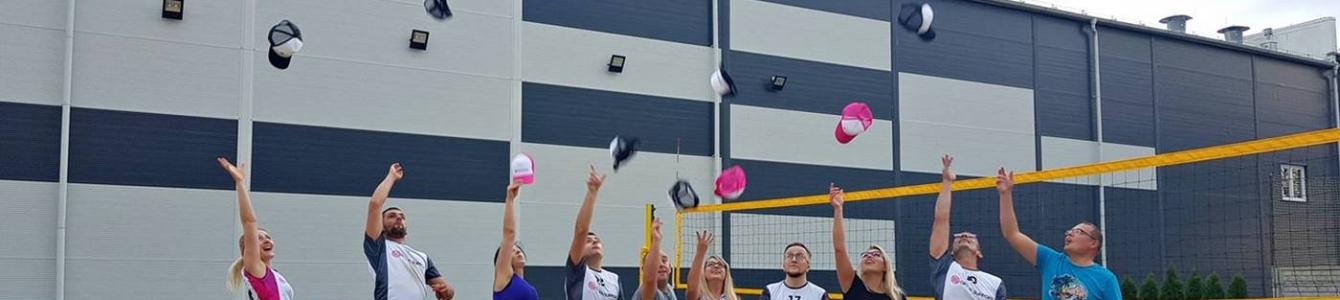 II Turniej siatkówki plażowej w Office Support