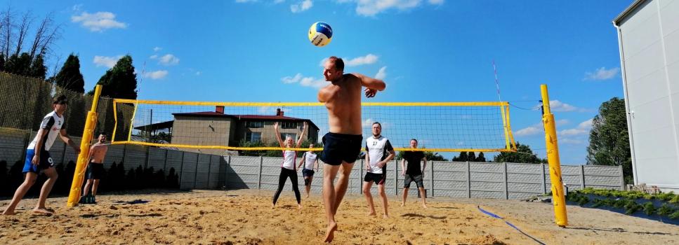 Turniej siatki plażowej w Office Support
